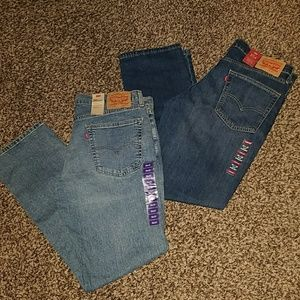 NWT Bundle of levis jeans